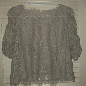 Joie lace blouse size small